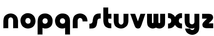 OPTIBubbleDoubleBold Font LOWERCASE