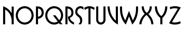 OPTIBuffer-Bold Font UPPERCASE