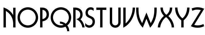 OPTIBuffer-Bold Font LOWERCASE