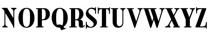 OPTIBurley-Bold Font UPPERCASE