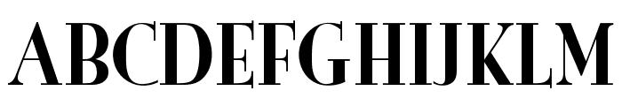 OPTIBurley-Solid Font UPPERCASE