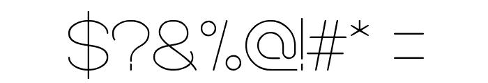 OPTICAL FIBER Font OTHER CHARS