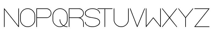 OPTICAL FIBER Font UPPERCASE