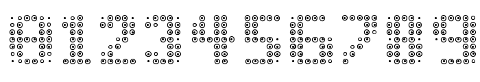 OPTIC.BOT Font OTHER CHARS