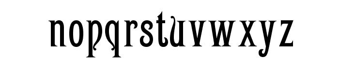 OPTICampanile Font LOWERCASE