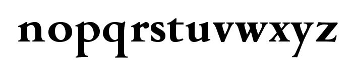 OPTICampeggio-Bold Font LOWERCASE