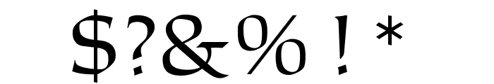 OPTICantorRoman-Bold Font OTHER CHARS