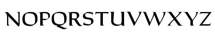 OPTICantorRoman-Bold Font UPPERCASE