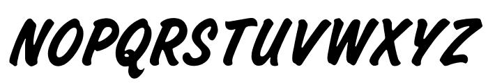 OPTICashew-Bold Font UPPERCASE