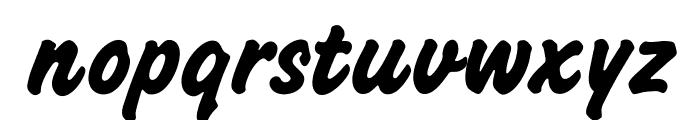 OPTICashew-Bold Font LOWERCASE