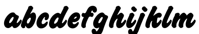 OPTICashew-ExtraBold Font LOWERCASE
