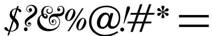 OPTICaslonFive-Italic Font OTHER CHARS