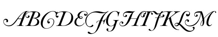 OPTICaslonFive-Swash Font UPPERCASE