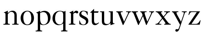 OPTICaslonFive Font LOWERCASE