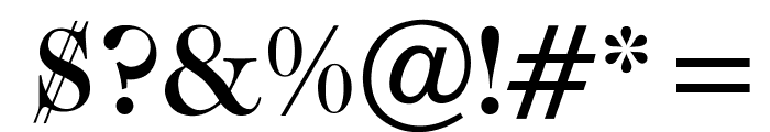 OPTICaslonTwo-Medium Font OTHER CHARS