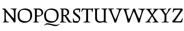 OPTICather-Italic Font UPPERCASE