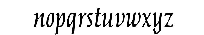 OPTICather-Italic Font LOWERCASE