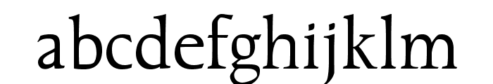 OPTICather Font LOWERCASE