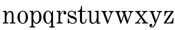 OPTICenturyExpandedTwo Font LOWERCASE