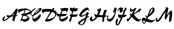OPTIChampion-Script Font UPPERCASE
