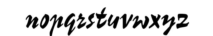 OPTIChampion-Script Font LOWERCASE