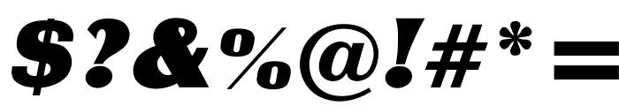 OPTICharterOak Font OTHER CHARS
