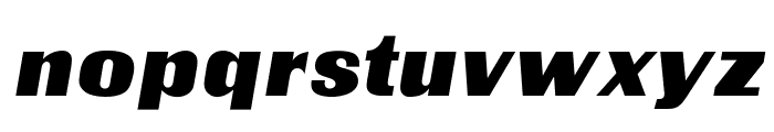 OPTICharterOak Font LOWERCASE