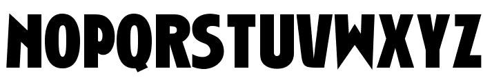 OPTIChartresGothic-Bold Font UPPERCASE