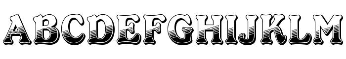 OPTICheersFive Font UPPERCASE