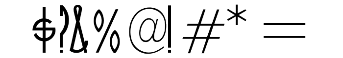 OPTICinema-Solid Font OTHER CHARS