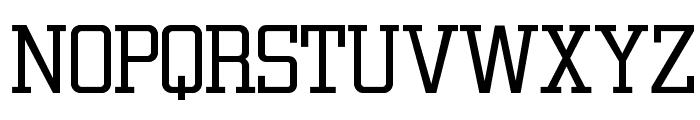 OPTICirrus-Light Font UPPERCASE