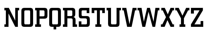 OPTICirrus-Medium Font UPPERCASE