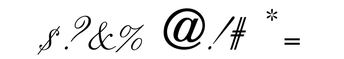 OPTICits Font OTHER CHARS