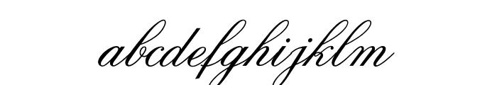 OPTICits Font LOWERCASE