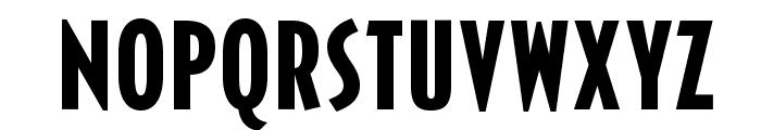 OPTICivet-BoldCond Font UPPERCASE