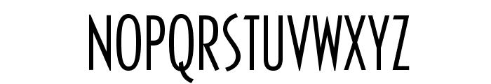 OPTICivet-LiteCondensed Font UPPERCASE