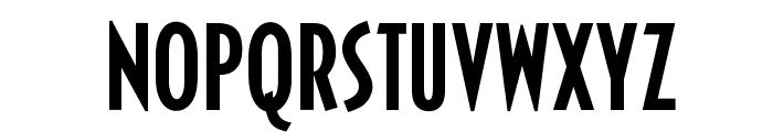 OPTICivet-MediumCond Font UPPERCASE