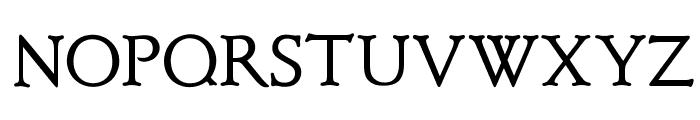 OPTIClementeBookAd Font UPPERCASE
