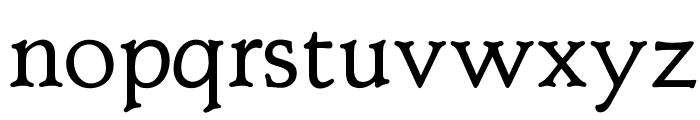OPTIClementeBookAd Font LOWERCASE