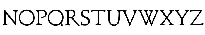 OPTIClementeLightAd Font UPPERCASE