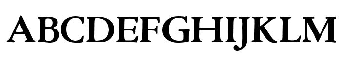 OPTICloister-Bold Font UPPERCASE