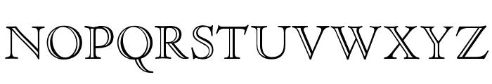 OPTICloister-OpenFace Font UPPERCASE