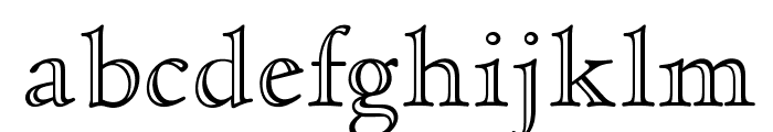 OPTICloister-OpenFace Font LOWERCASE