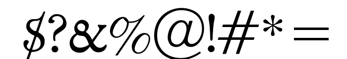 OPTICloister Font OTHER CHARS