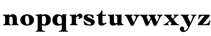 OPTICochise-Black Font LOWERCASE