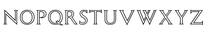 OPTIColumna-Open Font UPPERCASE