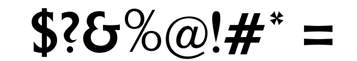 OPTIColumna-Solid Font OTHER CHARS
