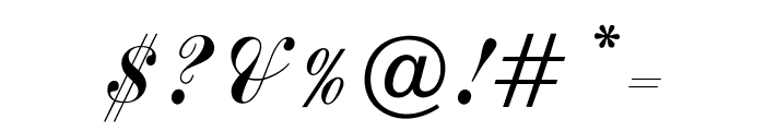 OPTICommercial-Script Font OTHER CHARS