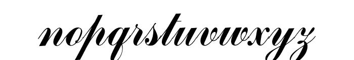 OPTICommercial-Script Font LOWERCASE