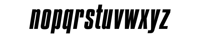 OPTICompit-Italic Font LOWERCASE